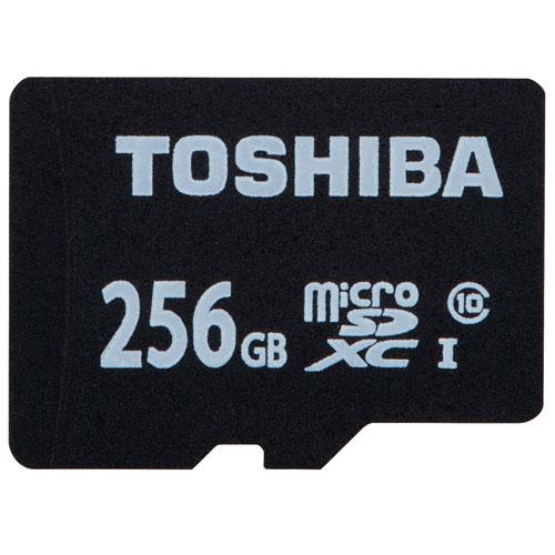 東芝 MSDBR48N256G microSDXCカード 256GB CLASS10