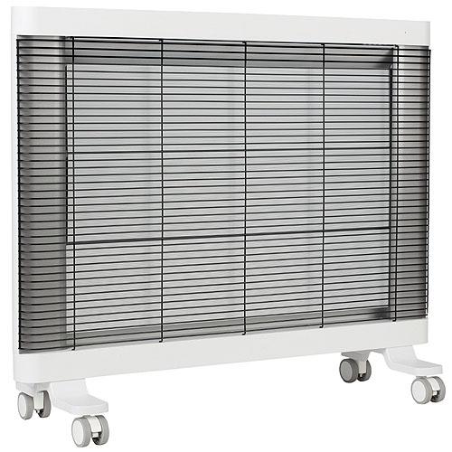 【長期保証付】インターセントラル MHS-900B-W(ホワイト) マイヒートセラフィ 遠赤外線パネルヒーター 900W