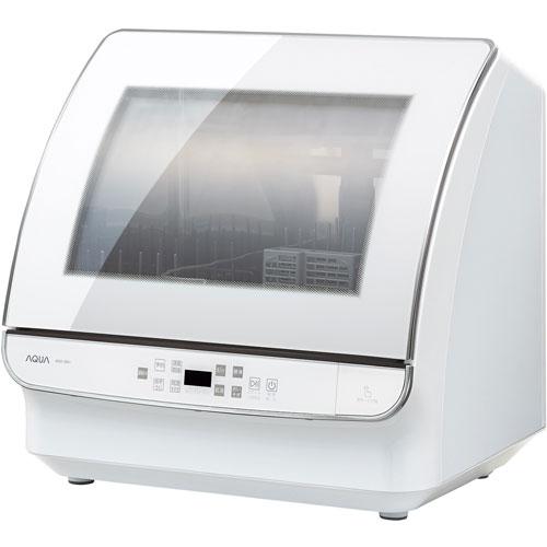 【設置】アクア ADW-GM1-W(ホワイト) 食器洗い機 4人分