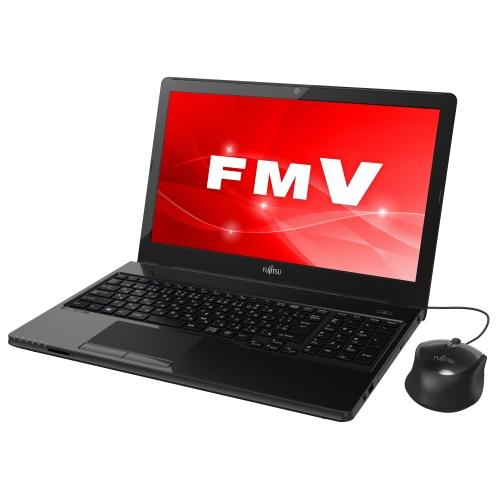 【長期保証付】富士通 FMVA41C3B(シャイニーブラック) LIFEBOOK AHシリーズ 15.6型液晶