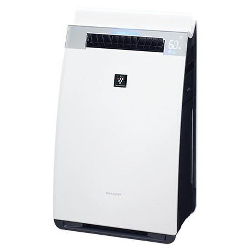 シャープ KI-J75YX-W(ホワイト系) 加湿空気清浄機 空気清浄34畳/加湿21畳