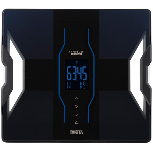 【長期保証付】タニタ RD909-BK(ブラック) 体組成計 インナースキャンデュアル
