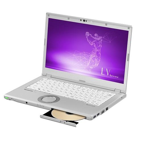 【長期保証付】パナソニック CF-LV7CDFQR(シルバー) LV7 ノートパソコン14.0型液晶