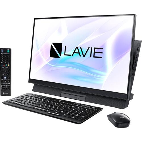 【長期保証付】NEC PC-DA770MAB(ファインブラック) LAVIE Desk All-in-one 23型液晶 TVチューナー搭載