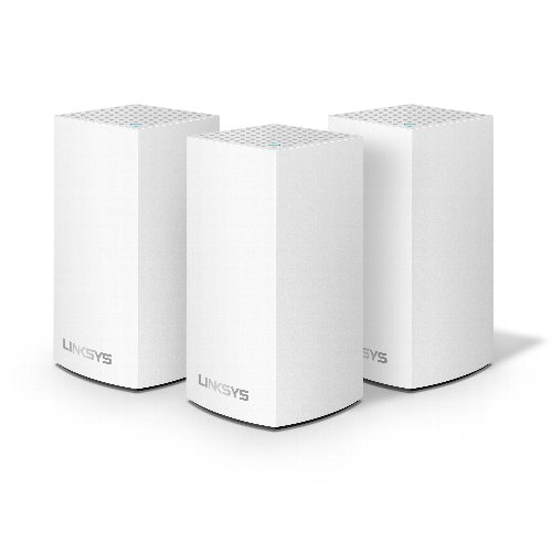 LINKSYS WHW0103-JP Velop(ヴェロップ) デュアルバンド メッシュWi-Fi 無線ルーター 3個パック