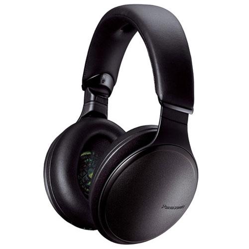 【長期保証付】パナソニック RP-HD610N-K(ブラック) ワイヤレスステレオヘッドホン
