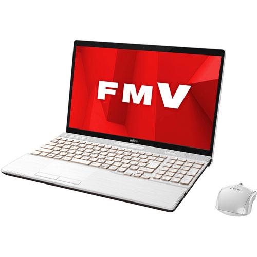 【長期保証付】富士通 FMVA77D1W(プレミアムホワイト) LIFEBOOK AHシリーズ 15.6型液晶