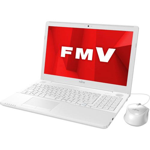 【長期保証付】富士通 FMVA42D1W(プレミアムホワイト) LIFEBOOK AHシリーズ 15.6型液晶