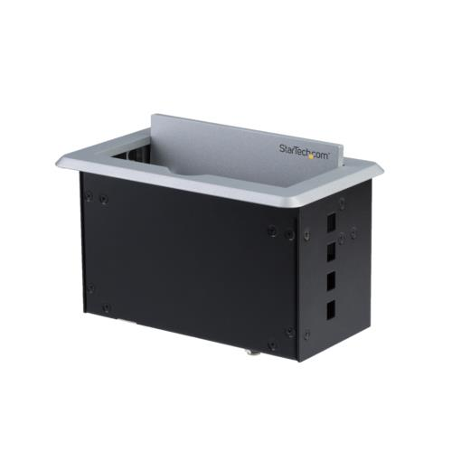 StarTech BOX4HDECP2 会議用テーブルAVコネクティビティBOX 充電用USBポート