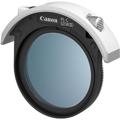 CANON ドロップイン円偏光フィルター PL-C52(WIII) 52mm
