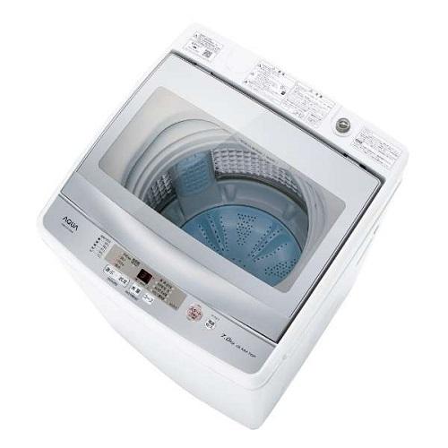 【長期保証付】アクア AQW-GS70H-W(ホワイト) 全自動洗濯機 上開き 洗濯7kg
