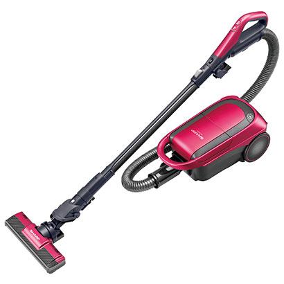 シャープ EC-VP510-P(ピンク) 紙パック式掃除機 スグ換え玄関ブラシ