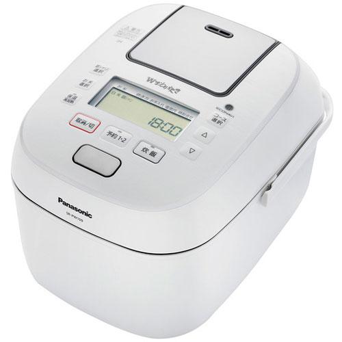 【長期保証付】パナソニック SR-PW109-W(ホワイト) Wおどり炊き 可変圧力IHジャー炊飯器 5.5合