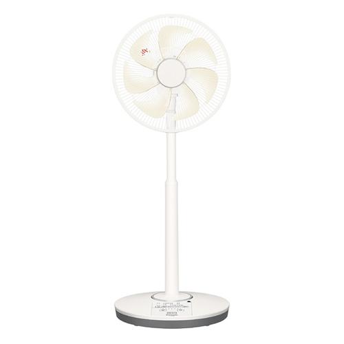 【長期保証付】パナソニック F-CS338-C(シルキーベージュ) 30cmDCリビング扇風機 リモコン付