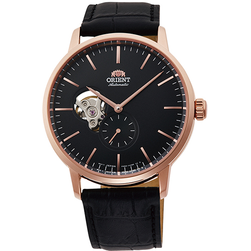 【長期保証付】オリエント RN-AR0103B 自動巻き(手巻き付き) 腕時計 メンズ