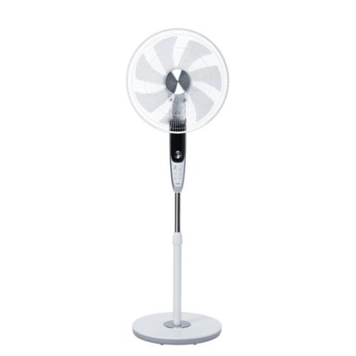 【長期保証付】トヨトミ FS-FD40JR-W(ホワイト) 40cmDCフロア扇風機 リモコン付