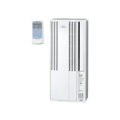 【設置+リサイクル+長期保証】コロナ CW-FA1619-WS(シェルホワイト) ウインドエアコン 冷房専用 主に4.5畳~7畳