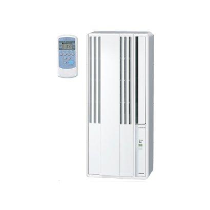 【設置】コロナ CW-F1619-WS(シェルホワイト) ウインドエアコン 冷房専用 主に4.5畳~7畳