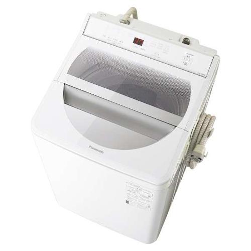 【設置】パナソニック NA-FA80H8-W(ホワイト) 全自動洗濯機 上開き 洗濯8kg