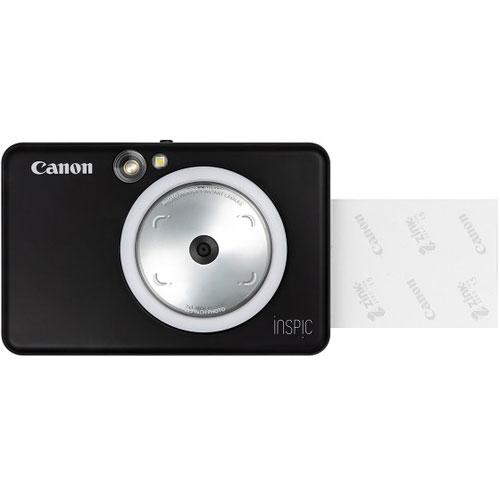 【長期保証付】CANON iNSPiC(インスピック) ZV-123-MBK(マットブラック) インスタントカメラプリンター