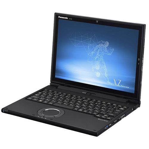 【長期保証付】パナソニック CF-XZ6KFKQR(ブラック) Let's note XZ6シリーズ 12.0型液晶