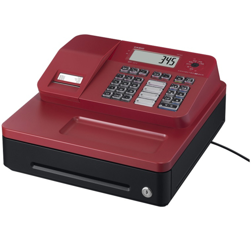 CASIO SR-G3-RD(レッド) Bluetoothレジスター 4部門