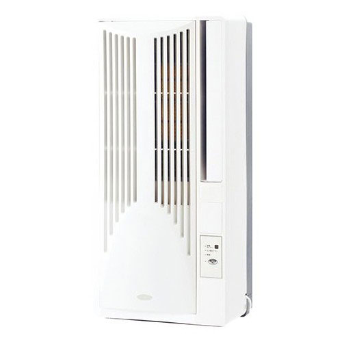 【長期保証付】コイズミ KAW-1992-W(ホワイト) ウインドウエアコン 冷房除湿専用 主に5畳~8畳