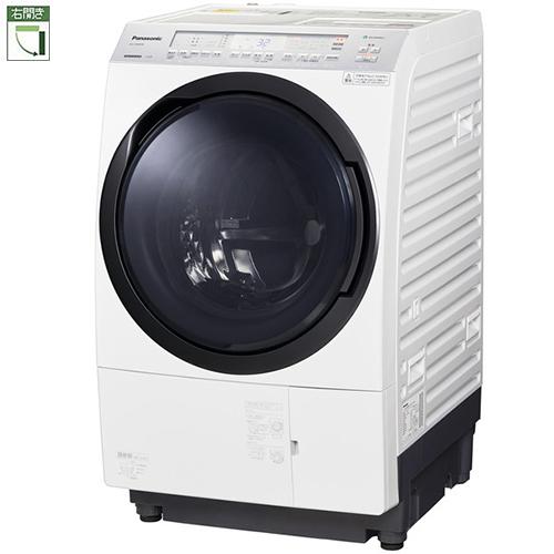 【標準設置料金込】パナソニック NA-VX800AR-W(クリスタルホワイト) ななめドラム洗濯乾燥機 右開き 洗濯11kg/乾燥6kg[代引・リボ・分割・ボーナス払い不可]