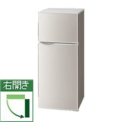 シャープ SJ-H13E-S(シルバー系) 2ドア冷蔵庫 右開き 128L