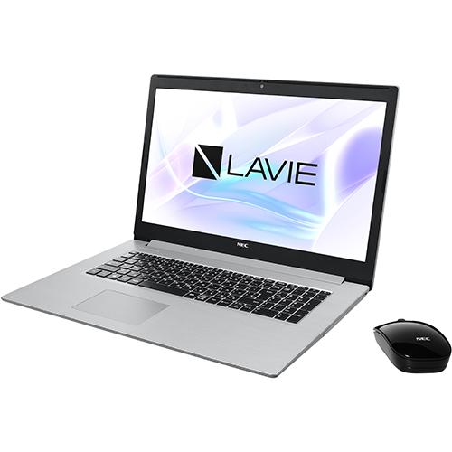 【長期保証付】NEC PC-NS850NAS(カームシルバー) LAVIE Note Standard 17.3型液晶