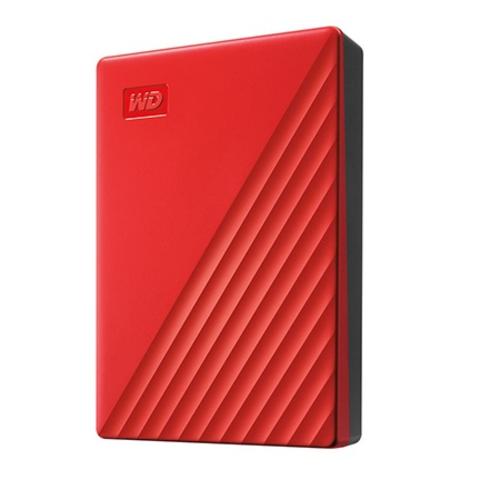 WesternDigital WDBPKJ0040BRD-JESN(レッド) My Passport 4TB