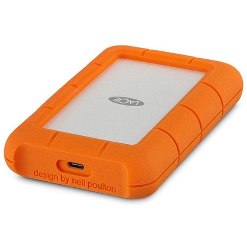 LaCie 2EUAPA Rugged USB 3.1 Type-C HDD 4TB