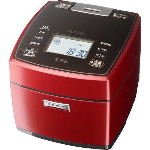 三菱 NJ-VXA10-R(赤紅玉) 備長炭 炭炊釜 IH炊飯器 5.5合