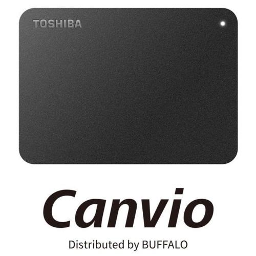 バッファロー HD-TPA4U3-B 東芝製Canvio USB 3.0対応ポータブルHDD 4TB