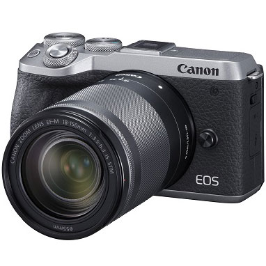 【長期保証付】CANON EOS M6 Mark II(シルバー) EF-M18-150 IS STM レンズキット