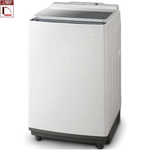 【長期保証付】アイリスオーヤマ KAW-100A(ホワイト) 全自動洗濯機 上開き 洗濯10kg 洗剤、柔軟剤自動投入機能付