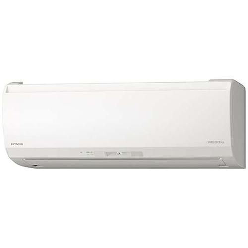 【工事料金別】【長期保証付】日立 RAS-EK28K2-W(スターホワイト) メガ暖 白くまくん 壁掛けタイプ EKシリーズ 10畳 電源200V[代引・リボ・分割・ボーナス払い不可]