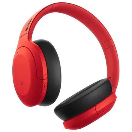 【長期保証付】ソニー WH-H910N-R(レッド) ワイヤレスノイズキャンセリングステレオヘッドセット