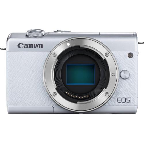 【長期保証付】CANON EOS M200 ボディ(ホワイト)