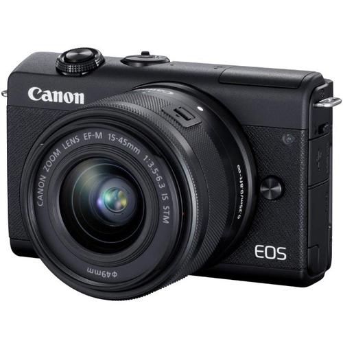 【長期保証付】CANON EOS M200 EF-M15-45 IS STM レンズキット(ブラック)