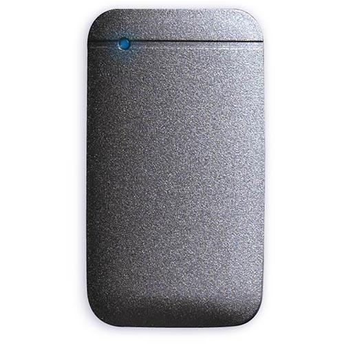 エレコム ESD-EF0500GBK(ブラック) USB Type-Cケーブル付き外付けポータブルSSD 500GB