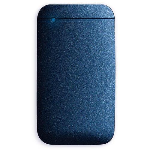 エレコム ESD-EF1000GNV(ネイビー) USB Type-Cケーブル付き外付けポータブルSSD 1TB