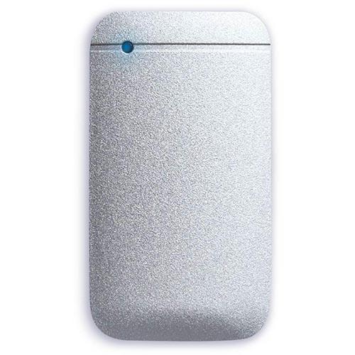 エレコム ESD-EF1000GSV(シルバー) USB Type-Cケーブル付き外付けポータブルSSD 1TB