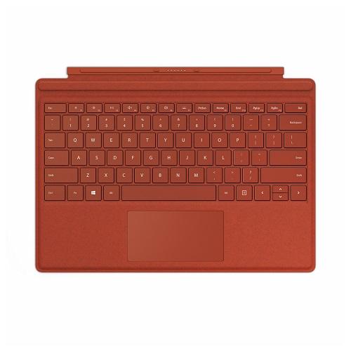 【在庫あり】14時までの注文で当日出荷可能! マイクロソフト Surface Pro タイプ カバー(ポピーレッド) 日本語配列 FFP-00119