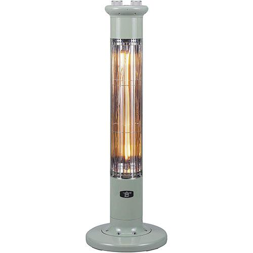 アラジン CAH-1G9B-G(グリーン) 遠赤外線グラファイトeヒーター 1灯管 電気ストーブ 900W