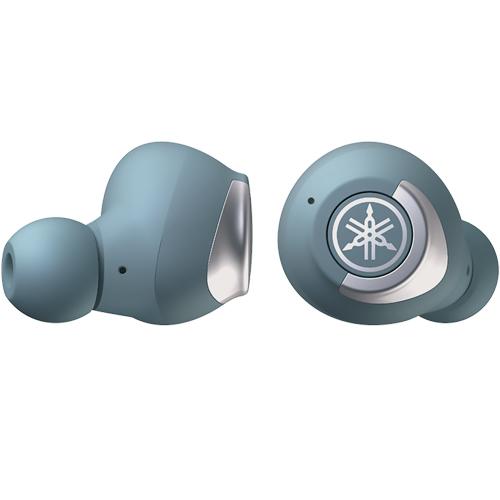 【長期保証付】ヤマハ TW-E5A-A(スモーキーブルー) 完全ワイヤレスBluetoothイヤホン リスニングケア搭載