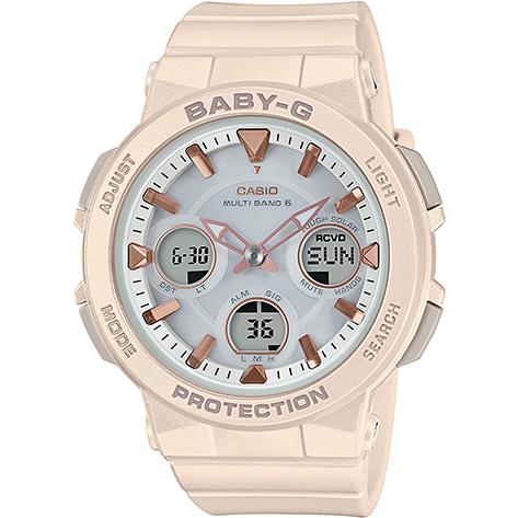 【長期保証付】CASIO BGA-2510-4AJF BABY-G(ベイビージー) レディース