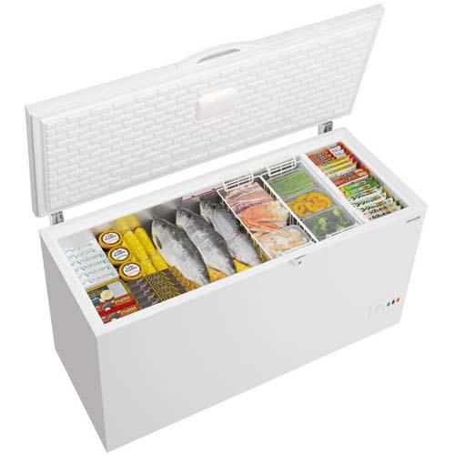【売り切り御免!】 【標準設置料金込】【送料無料】パナソニック NR-FC46FB-W(ホワイト) 1ドア冷凍庫 上開き 463L[・リボ・分割・ボーナス払い], SQUARE PLUS 254088d8