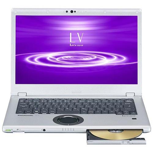 パナソニック CF-LV8NDMQR(シルバー&ブラック) Let's note LV8シリーズ 14.0型液晶