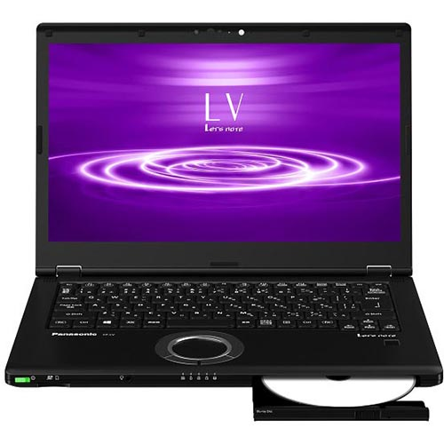 【長期保証付】パナソニック CF-LV8PDNQR(ブラック) Let's note LV8シリーズ 14.0型液晶